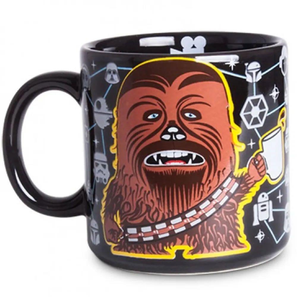 Caneca Preta Coffee Chewie