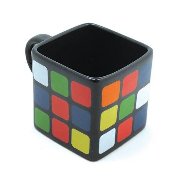 Caneca quadrada - Cubo Mágico