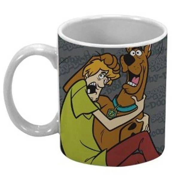 Caneca Scooby Doo e Salsicha