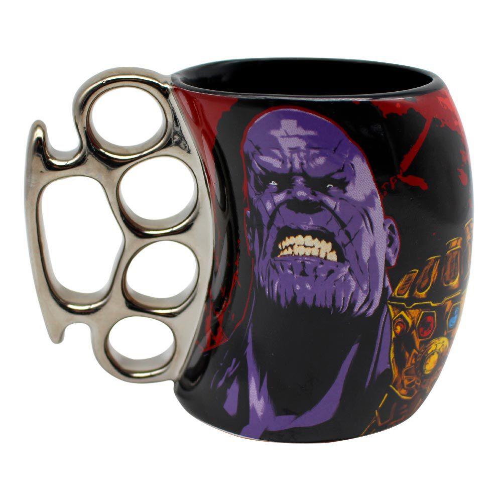 Caneca Soco Inglês Avengers Thanos