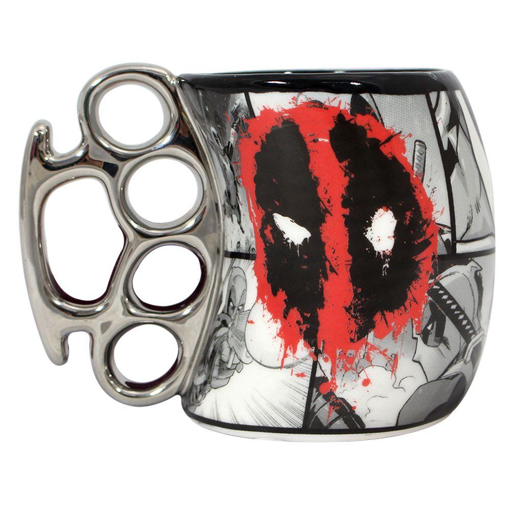 Caneca Soco Inglês Deadpool