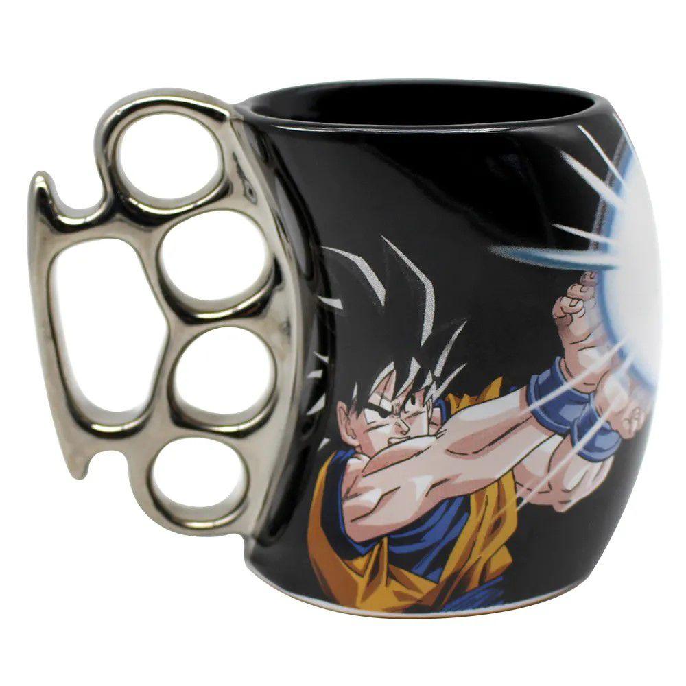 Caneca Soco Inglês Goku - Dragon Ball