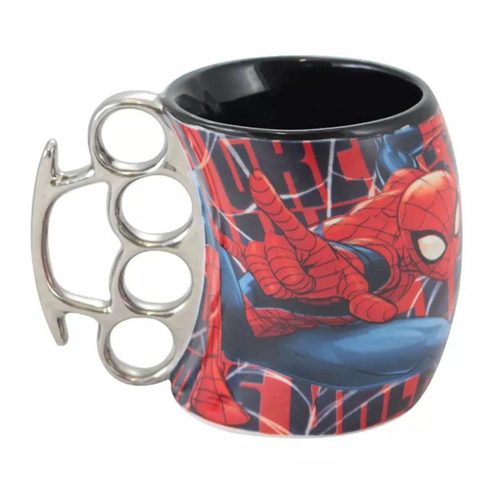 Caneca Soco Inglês-Homem-Aranha