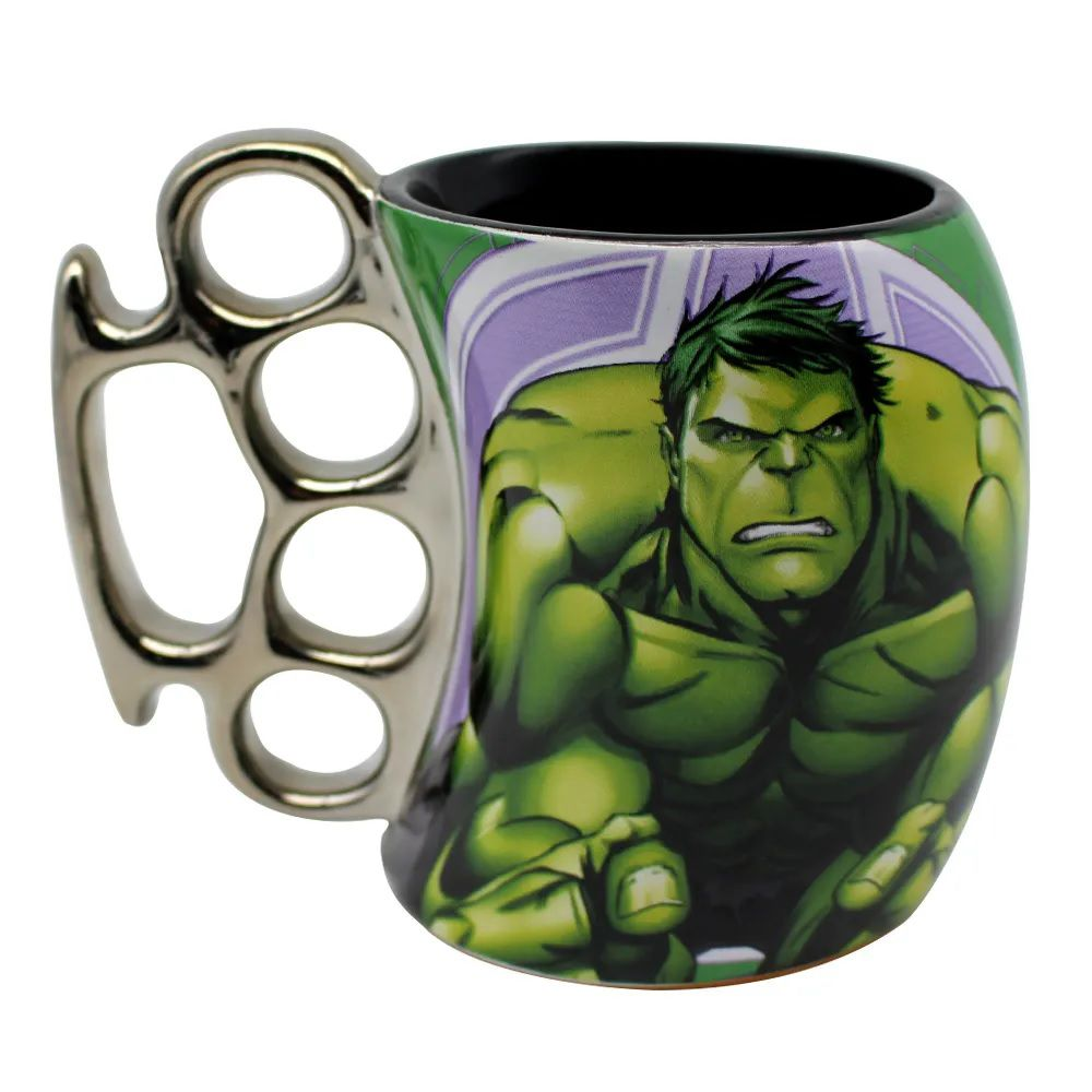 Caneca Soco Inglês Hulk Avengers
