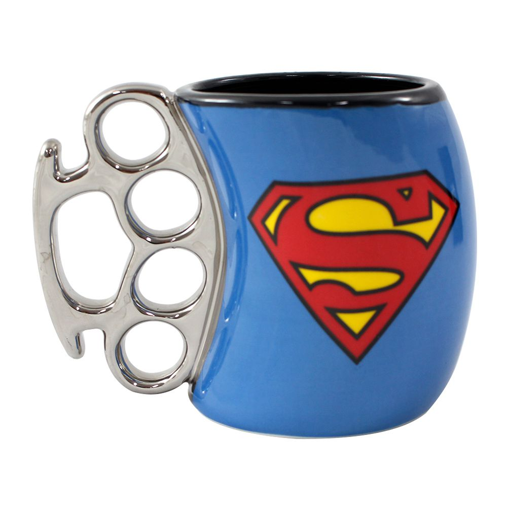 Caneca Soco Inglês Superman
