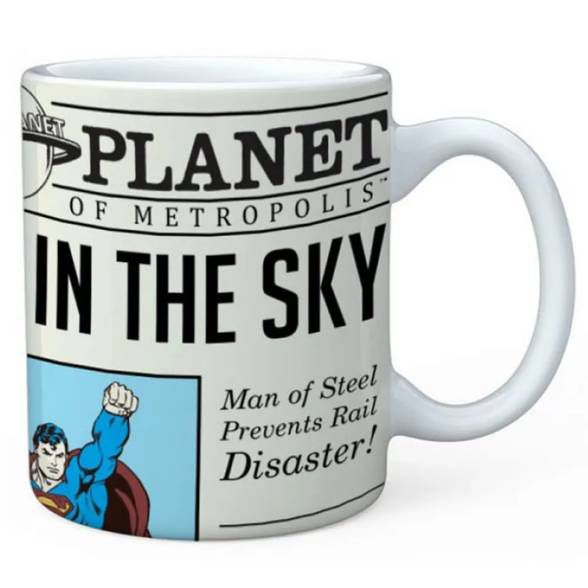 Caneca Superman Daily Planet