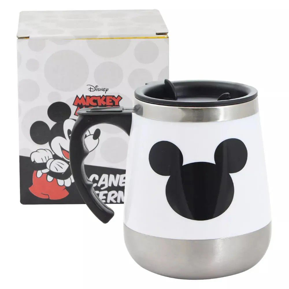 Caneca Térmica Mickey Mouse Simbolo