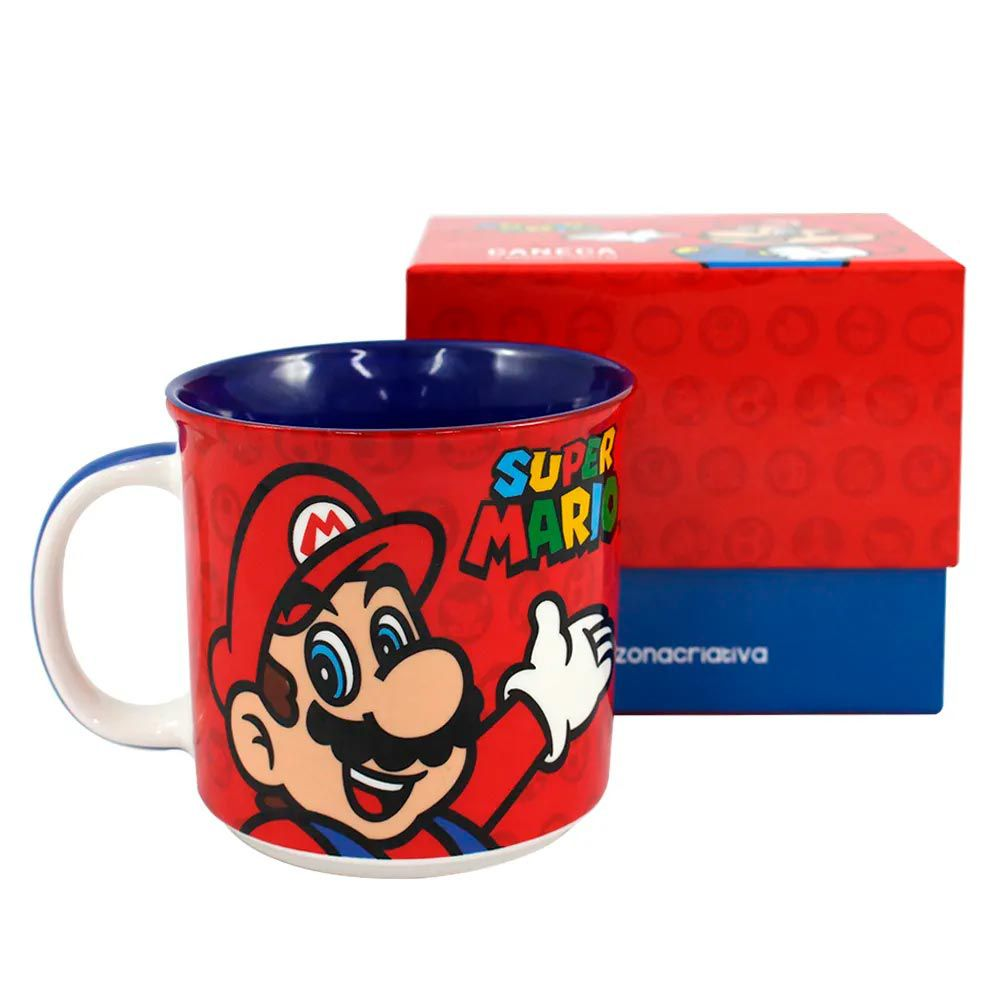 Caneca Tom Super Mario