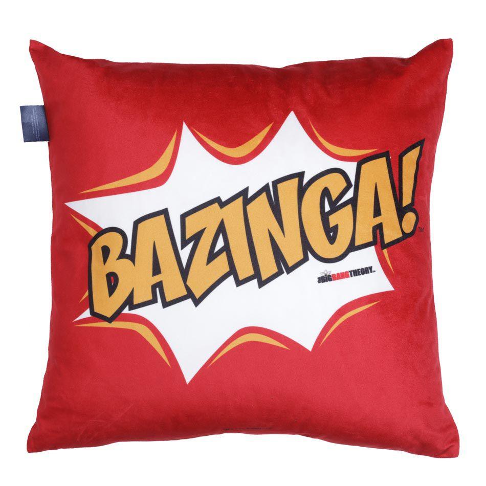 Capa de Almofada Bazinga Big Bang Theory
