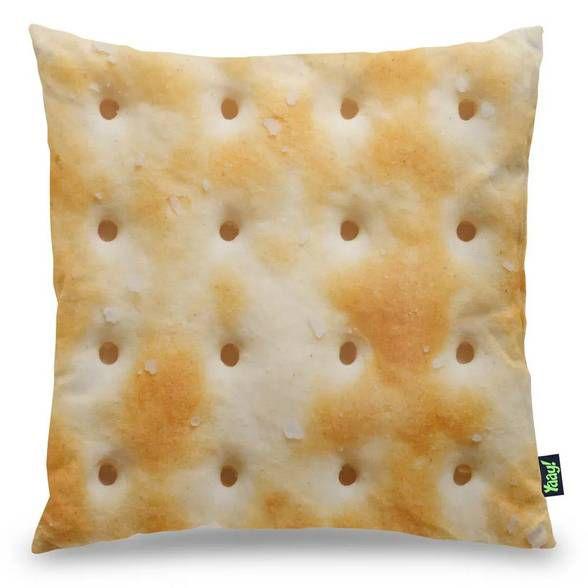 Capa de Almofada Bolacha Cracker