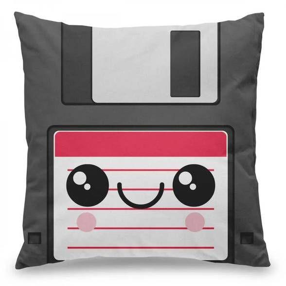 Capa de Almofada Disquete Cute Floppy Disk