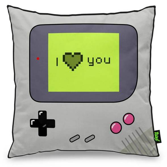 Capa de Almofada Gamer Boy - I Love You