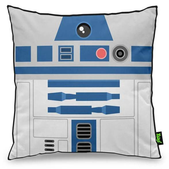 Capa de Almofada Geek Side Faces - R2