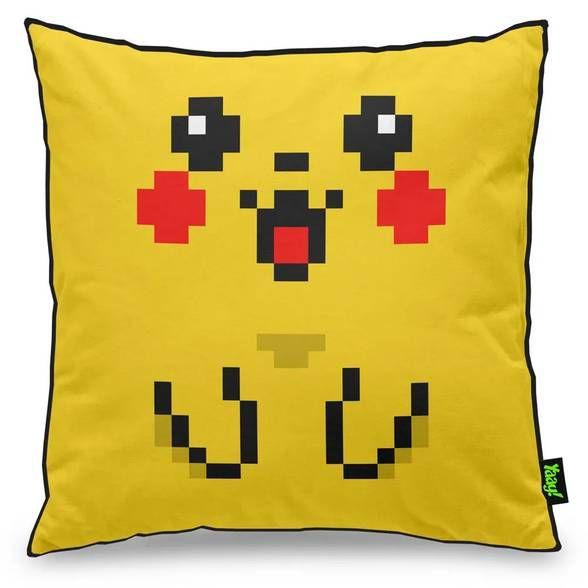 Capa de Almofada Pixelchu