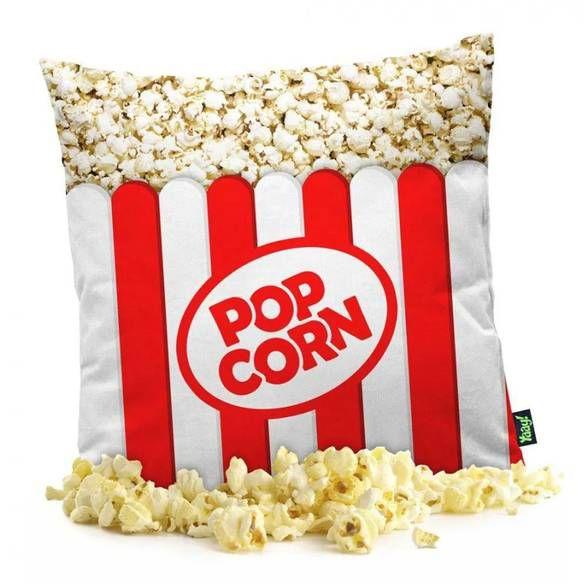 Capa de Almofada Popcorn Pipoca