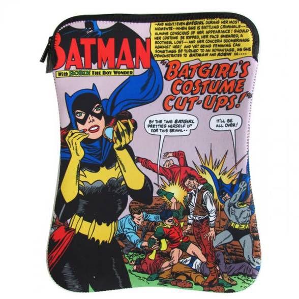 Capa p/ Notebook Batgirl