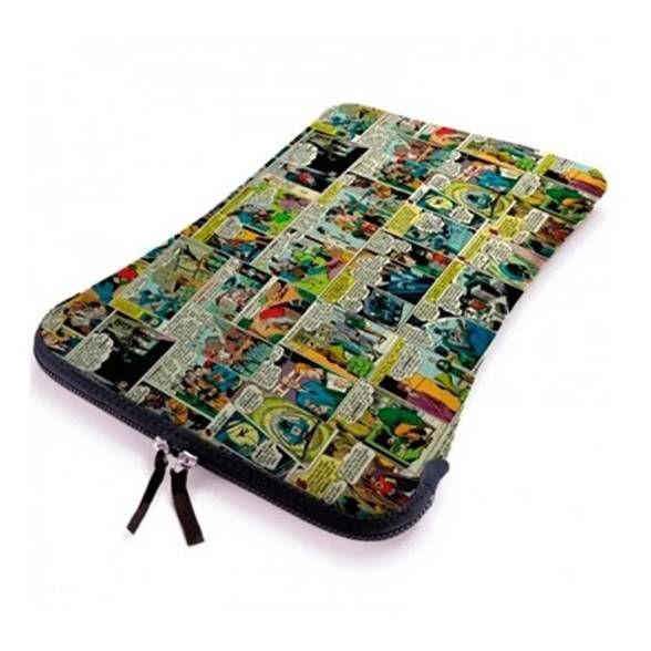 Capa p/ Notebook Quadrinhos DC Comics