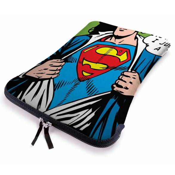 Capa p/ Notebook Superman DC