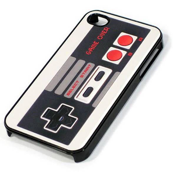 Capa para iPhone 4 e 4S Joystick retrô Game Over