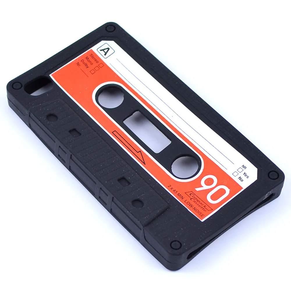 Capa para iPhone 4 e 4S retrô Fita Cassete