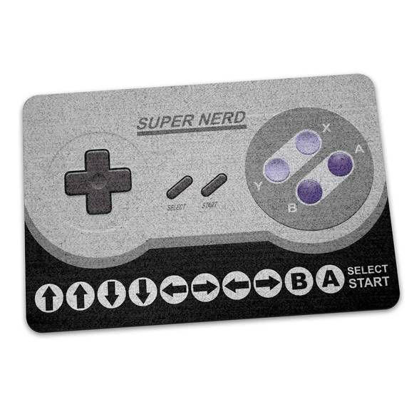 Capacho Ecológico Gamer Cheat Code 16-bits