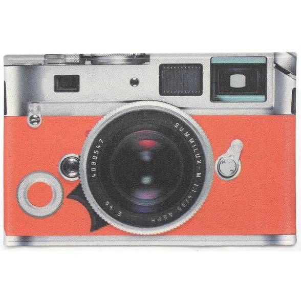 Capacho em PVC Câmera Fotográfica