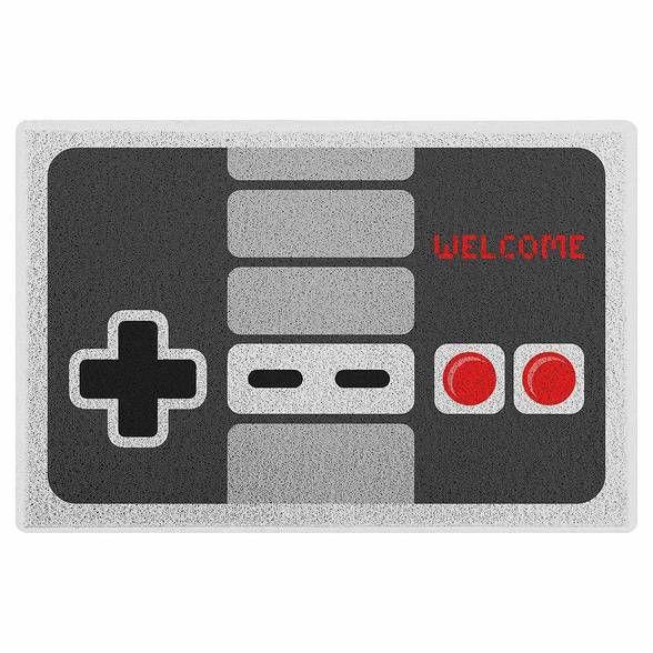 Capacho em PVC Gamer Joystick Retrô