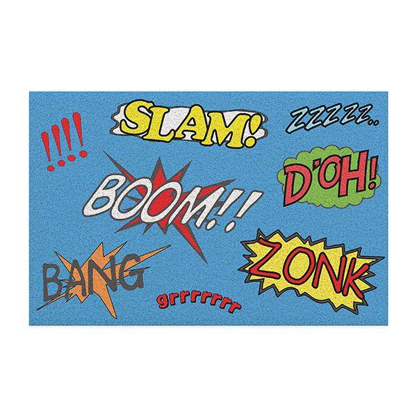 Capacho em Vinil Bang Boom