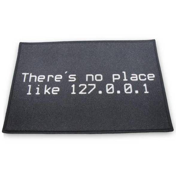 Capacho em Vinil IP 127.0.0.1