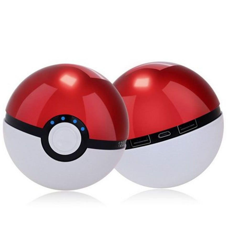 Carregador Portátil Power Bank Magic Ball Pokemon