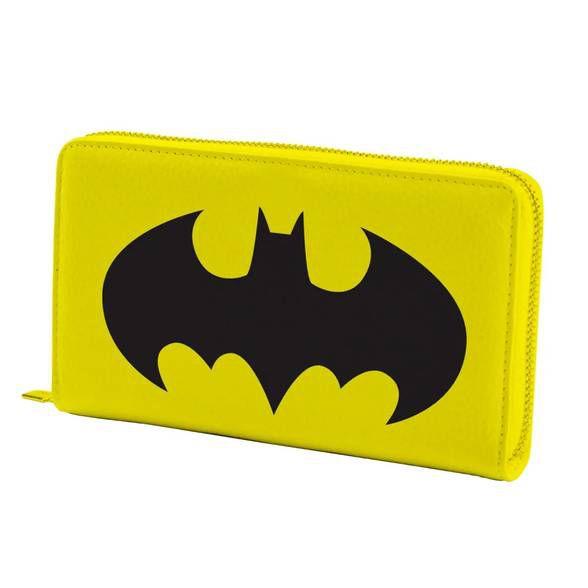 Carteira com ziper Batman Logo