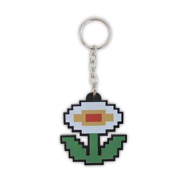 Chaveiro Flor Pixel
