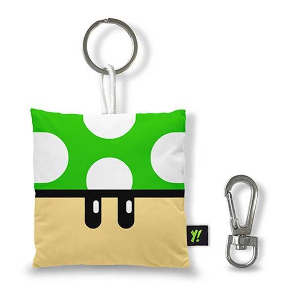 Chaveiro Gamer Cogumelo Grow Up - Verde