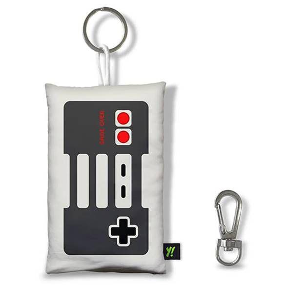 Chaveiro Gamer Joystick Retrô