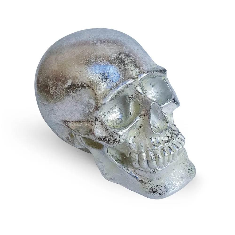 Cofre Crânio Skull - prata