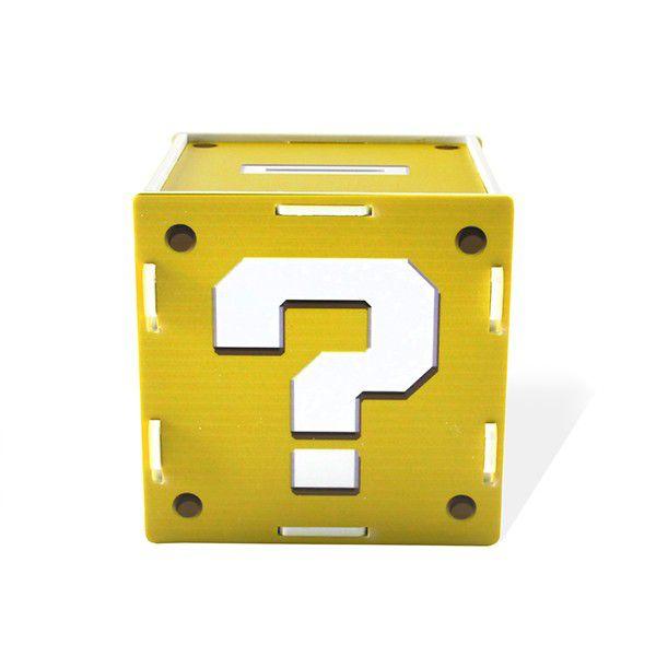 Cofre Interrogação Amarelo