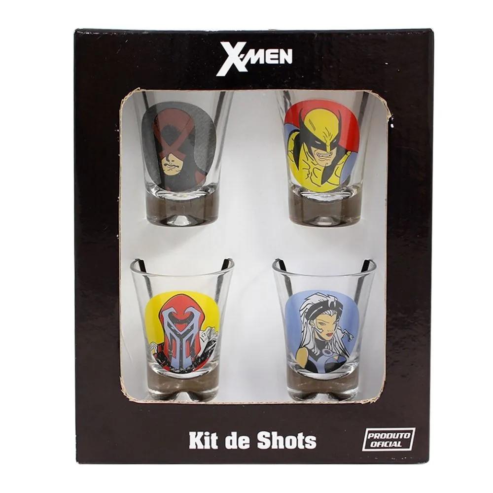 KIT SHOT C/4 X MEN TODOS