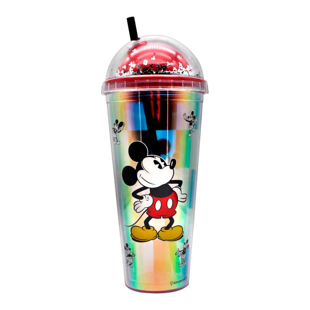Copo Holográfico Mickey Mouse - Xadrez