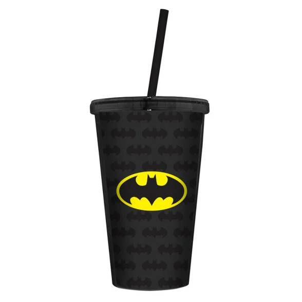 Copo Plástico logo Batman