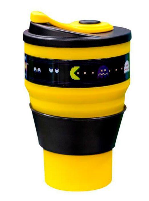Copo retrátil Pac-Man