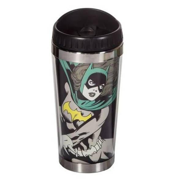 Copo Térmico Batgirl