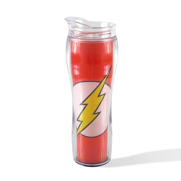 Copo Térmico logo The Flash