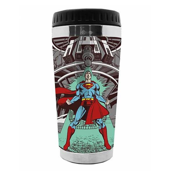 Copo Térmico Superman