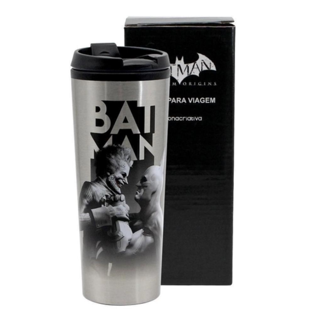 COPO VIAGEM METAL- BATMAN VS CORINGA