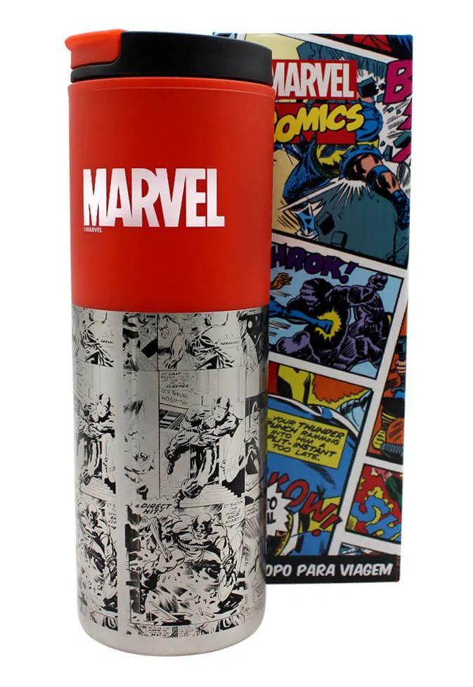 Copo Viagem Smart Marvel Classic