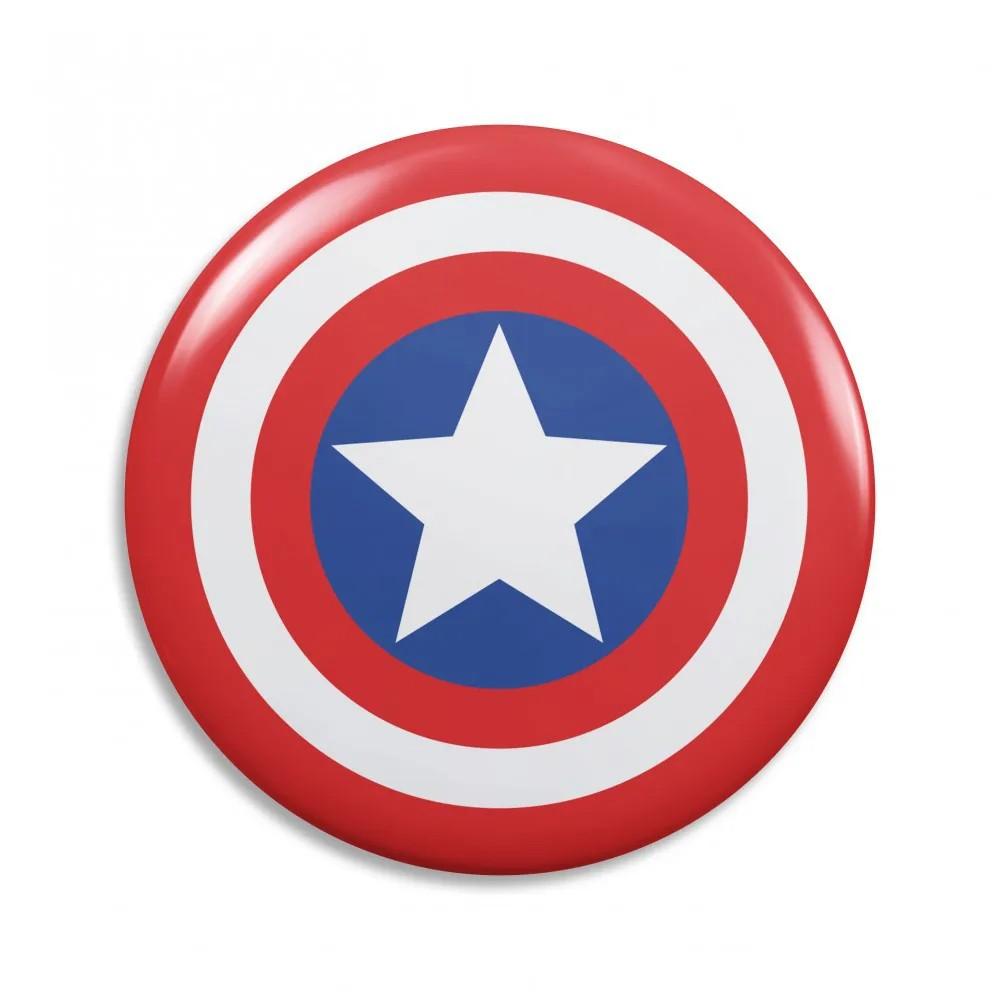 Espelho de Bolso Capitão América
