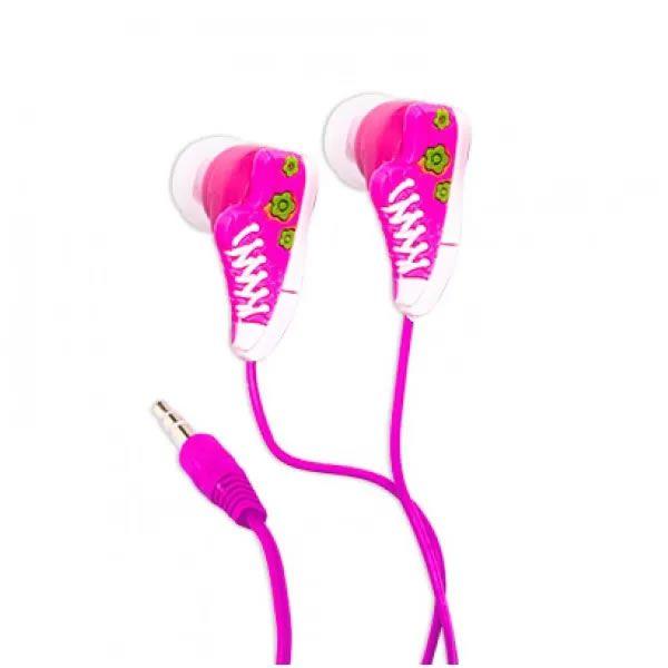 Fone de ouvido tênis - Rosa