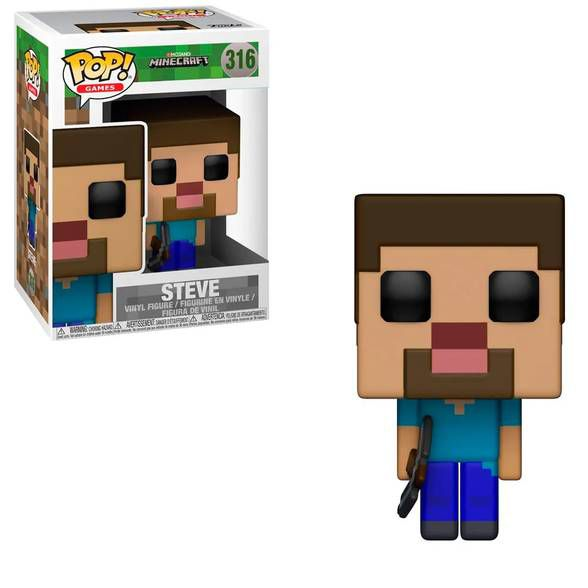 Funko Pop! Minecraft Steve