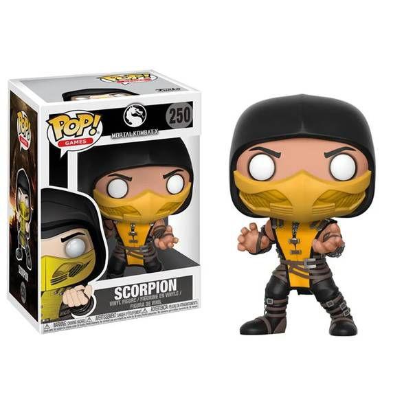 Funko Pop! Mortal Kombat - Scorpion