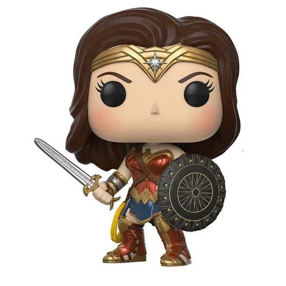 Funko Pop! Mulher Maravilha - Sword and Shield